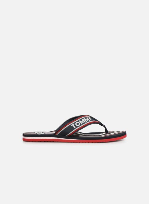Flip flops Tommy Hilfiger Pop Webbing B Blue back view